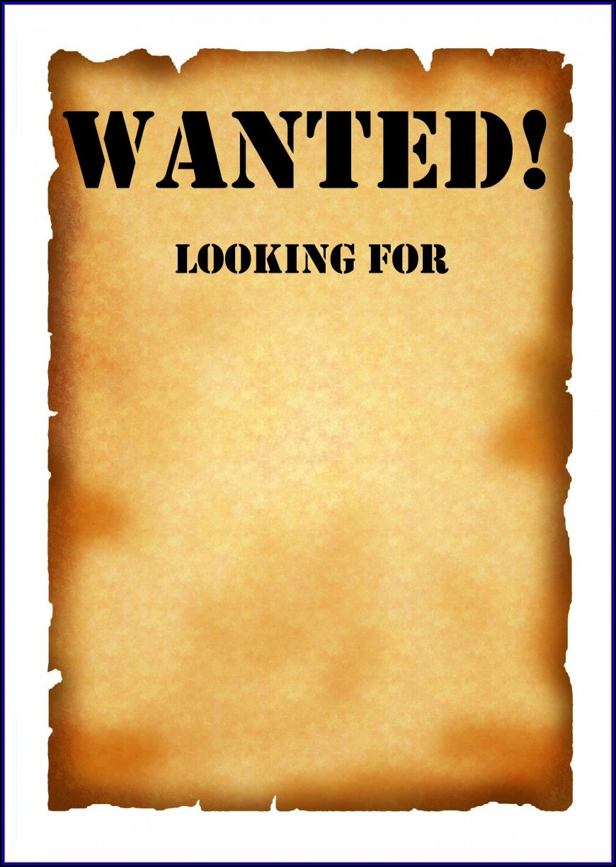 Help Wanted Ad Template Word
