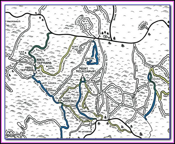 New Hampshire Snowmobile Trail Maps