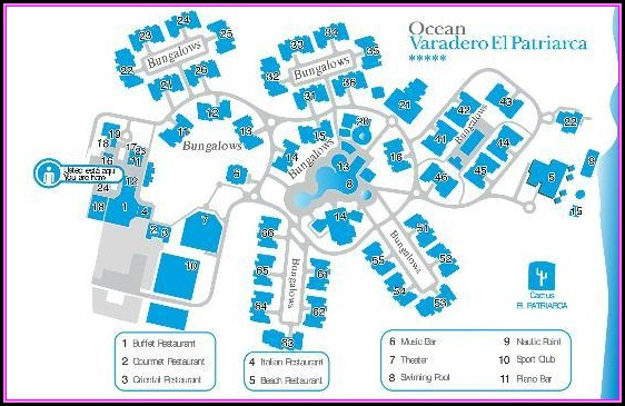 Ocean Varadero El Patriarca Map