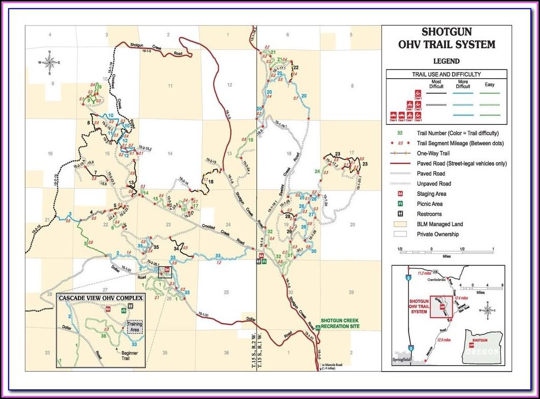 Ohv Gps Trail Maps