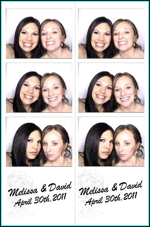 Photo Booth Strips Template For Photoshop