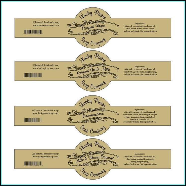 Printable Cigar Label Template
