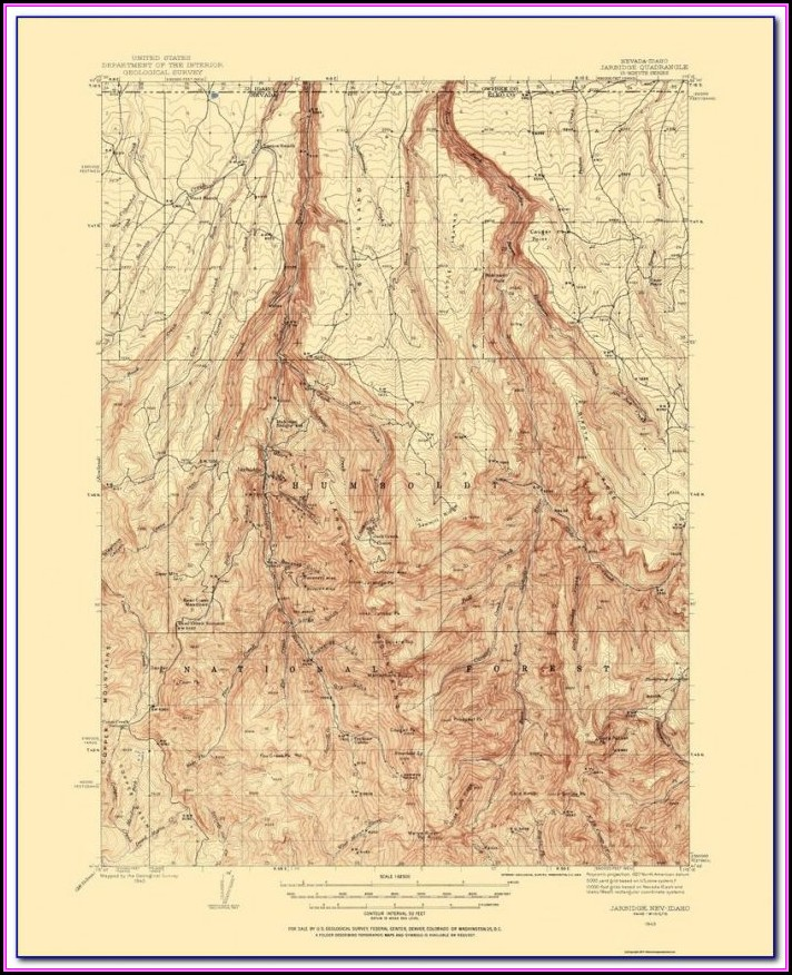 Reno Nevada Attractions Map