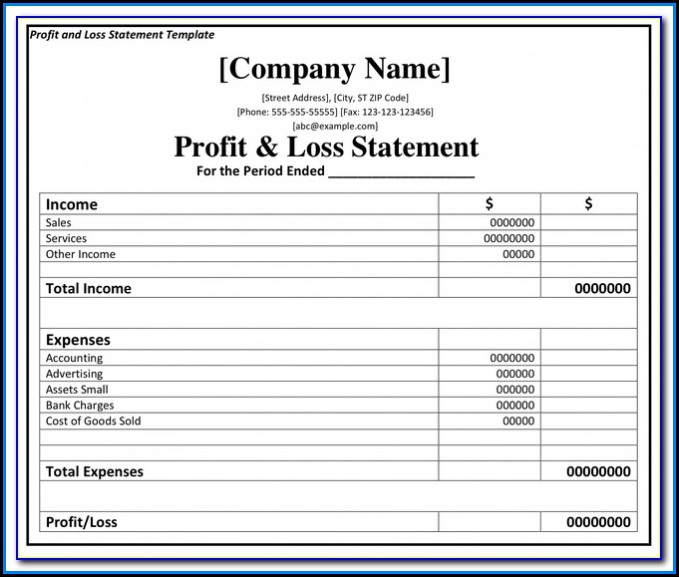 Simple Profit And Loss Formula