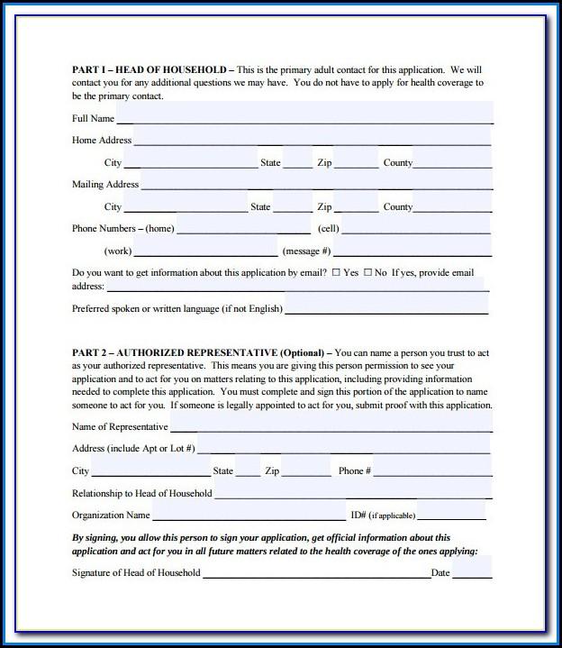 Social Security Medicare Part A Application Form
