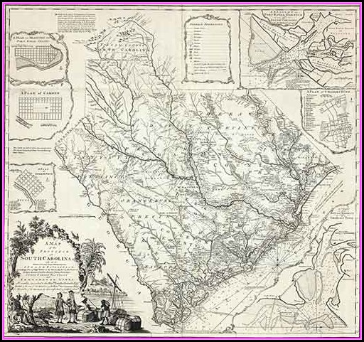 South Carolina History Maps