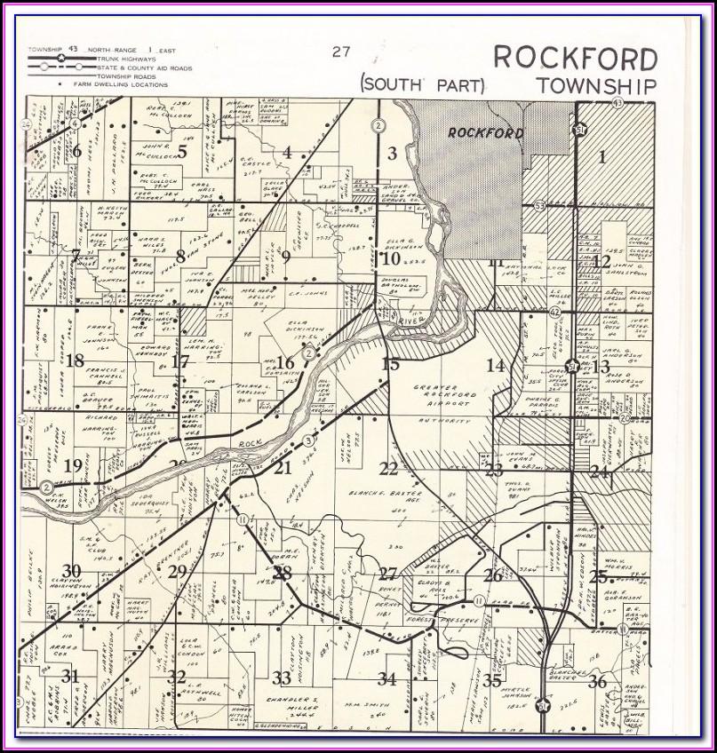Township Map Winnebago County Il