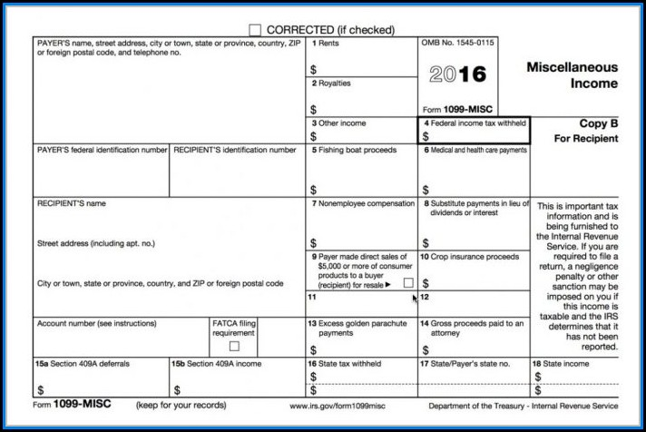 Where Do I Order 1099 Misc Forms