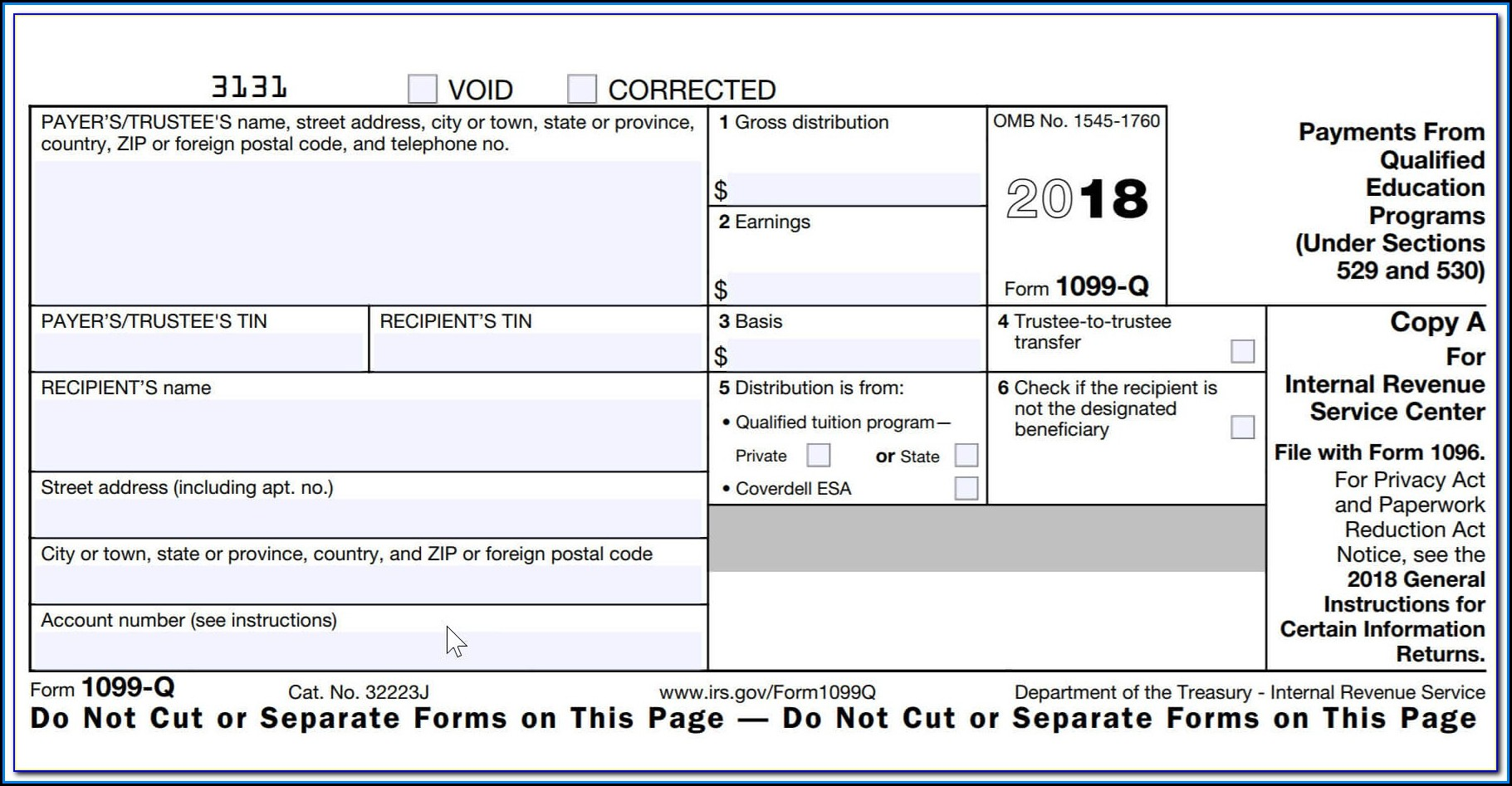 Where To Mail 1099 Misc Forms