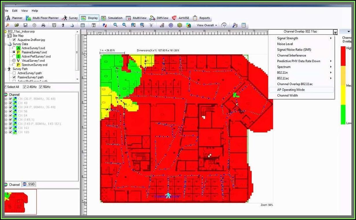 Wifi Heat Mapping Tool