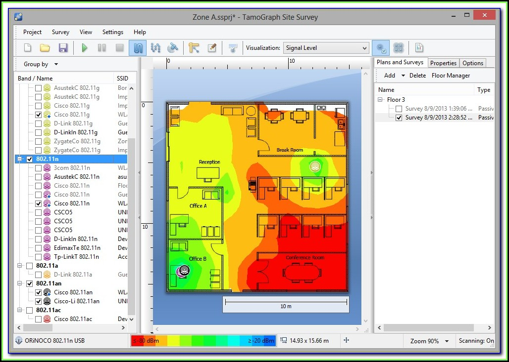 Wifi Signal Mapping Tool