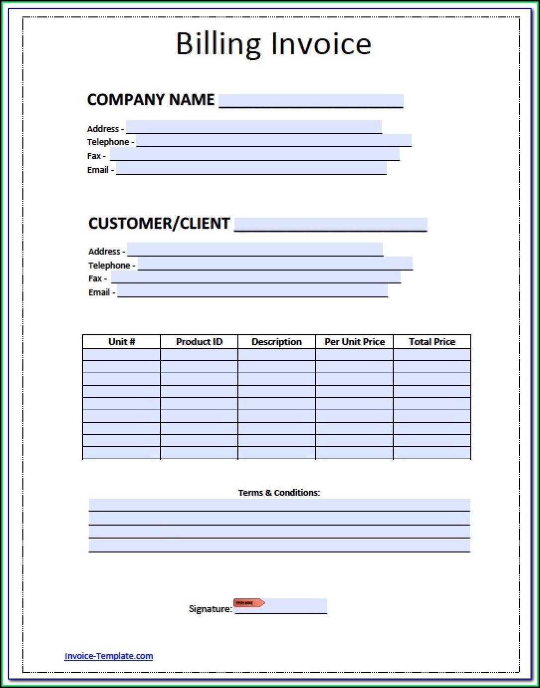 Custom Carbon Copy Estimate Forms