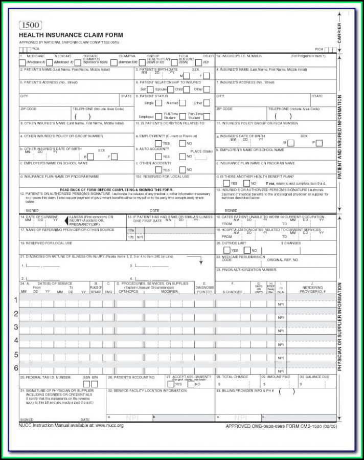 Dental Hipaa Form 2017