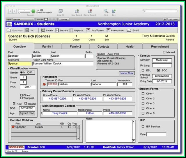 Filemaker Online Forms
