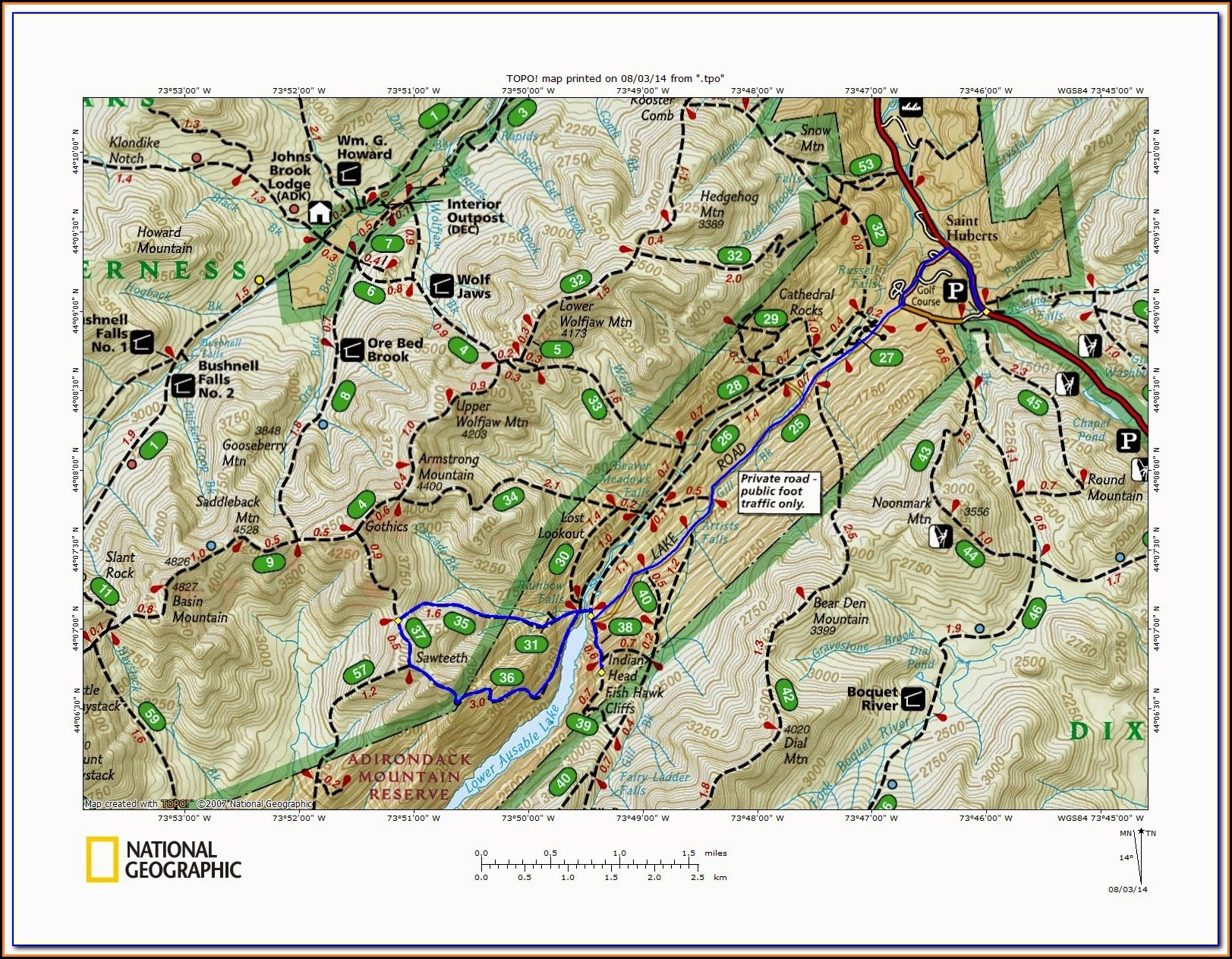 Adirondack Snowmobile Trail Maps