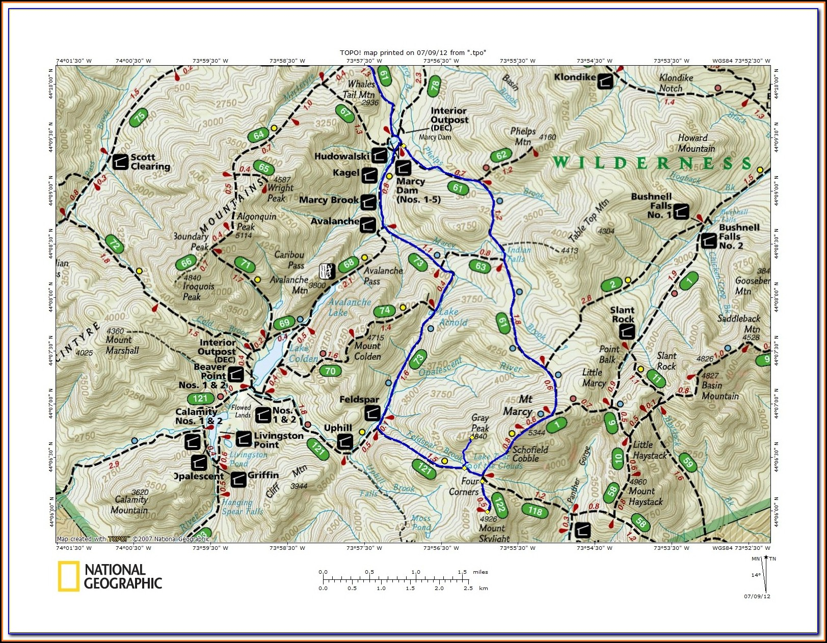 Adirondack Trail Maps Pdf