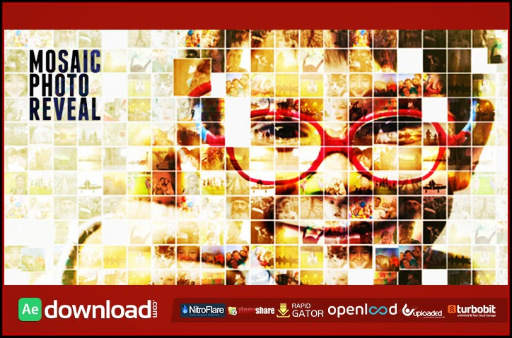 After Effects Photo Mosaic Template