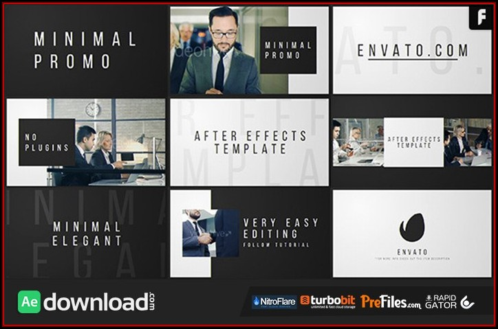 After Effects Product Promo Templates Free Download