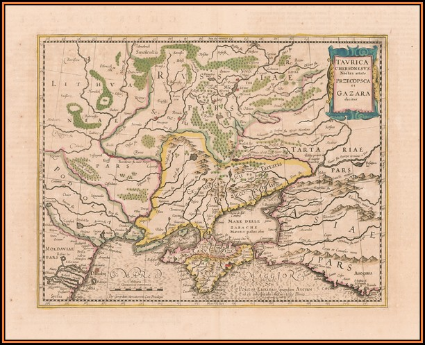 Antique Maps Of Ukraine
