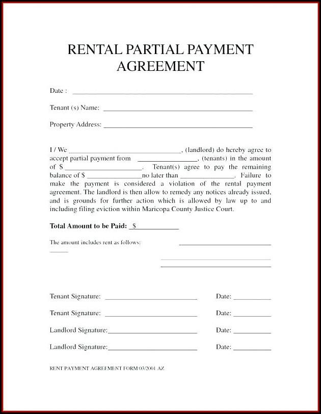 Auto Rental Form Templates