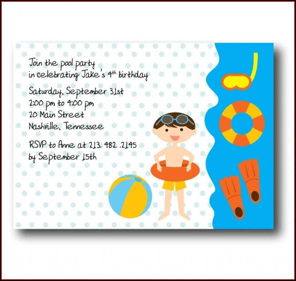 Birthday Party Invites Templates