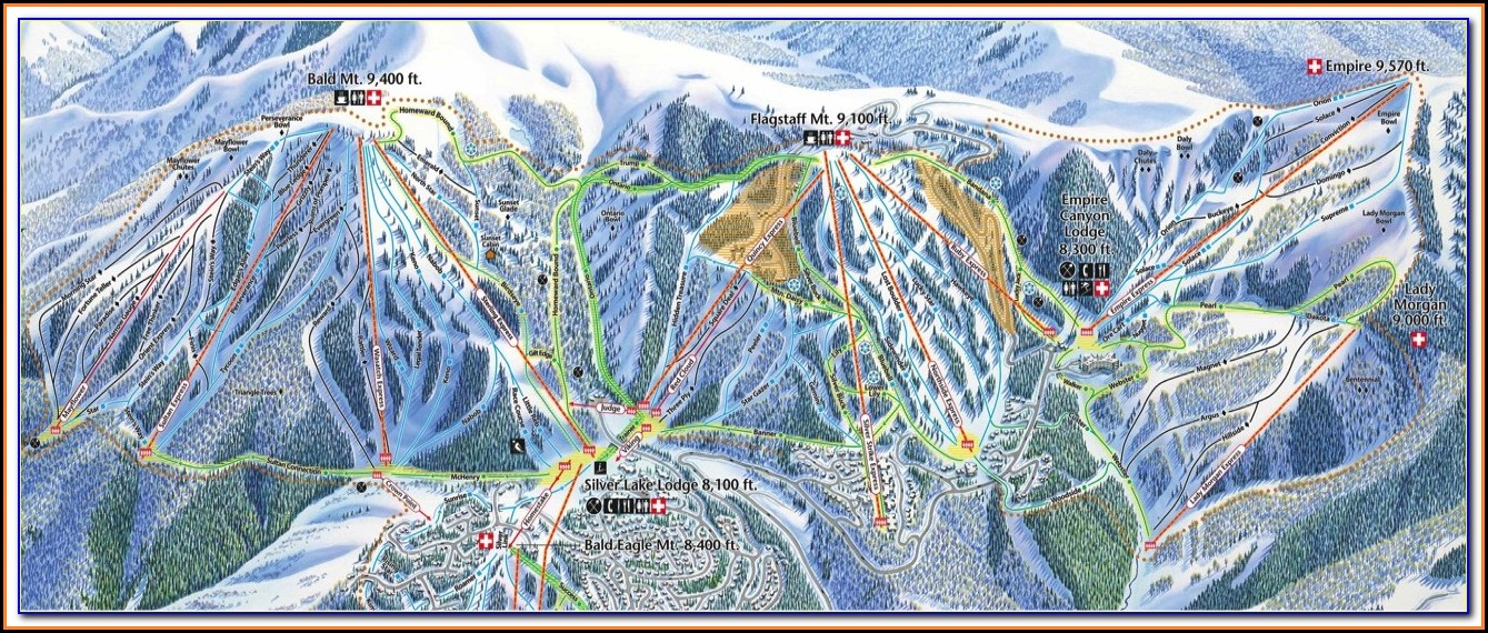 Deer Valley Hotel Map