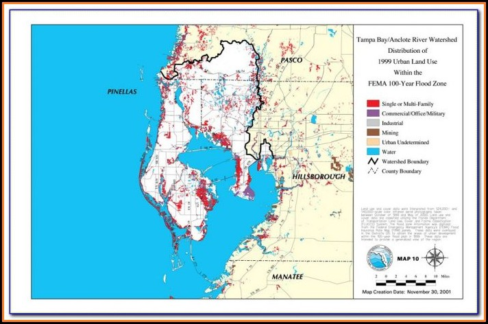 Florida Flood Zone Map Fema
