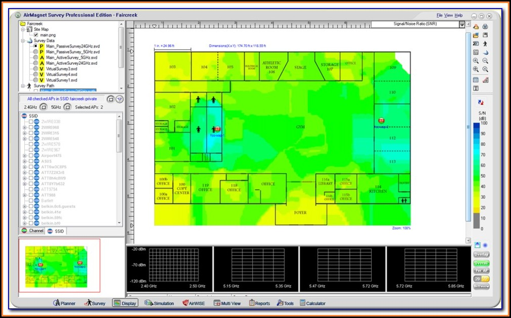 Free Heat Map Tool Wifi