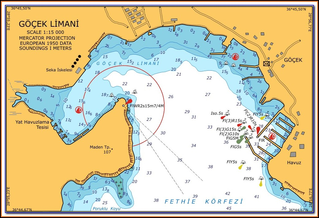 Free Nautical Maps Of Georgian Bay