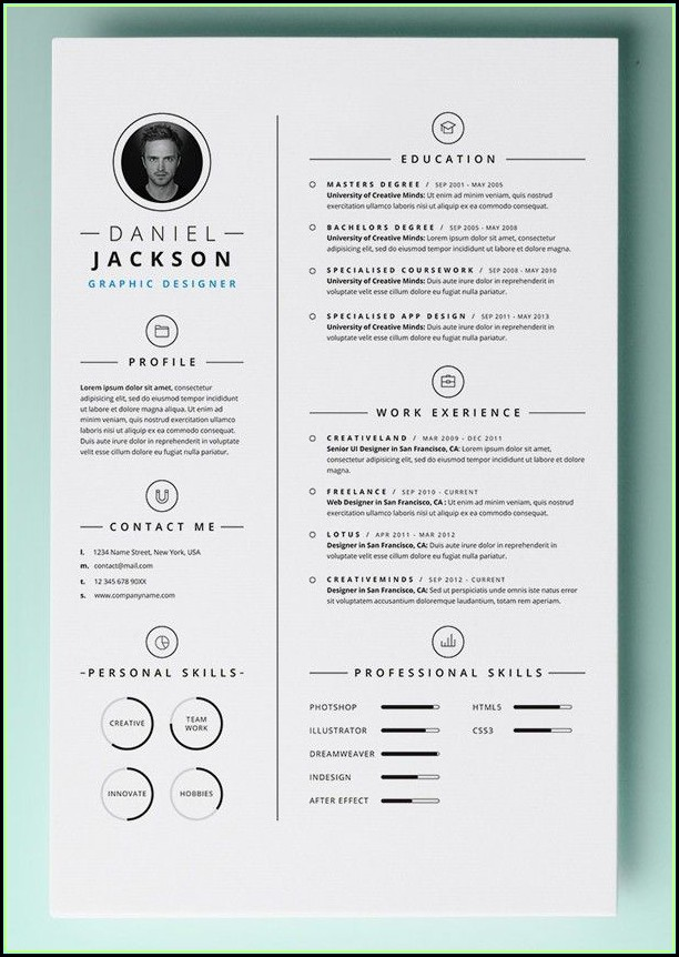 Free Resume Templates Word Mac