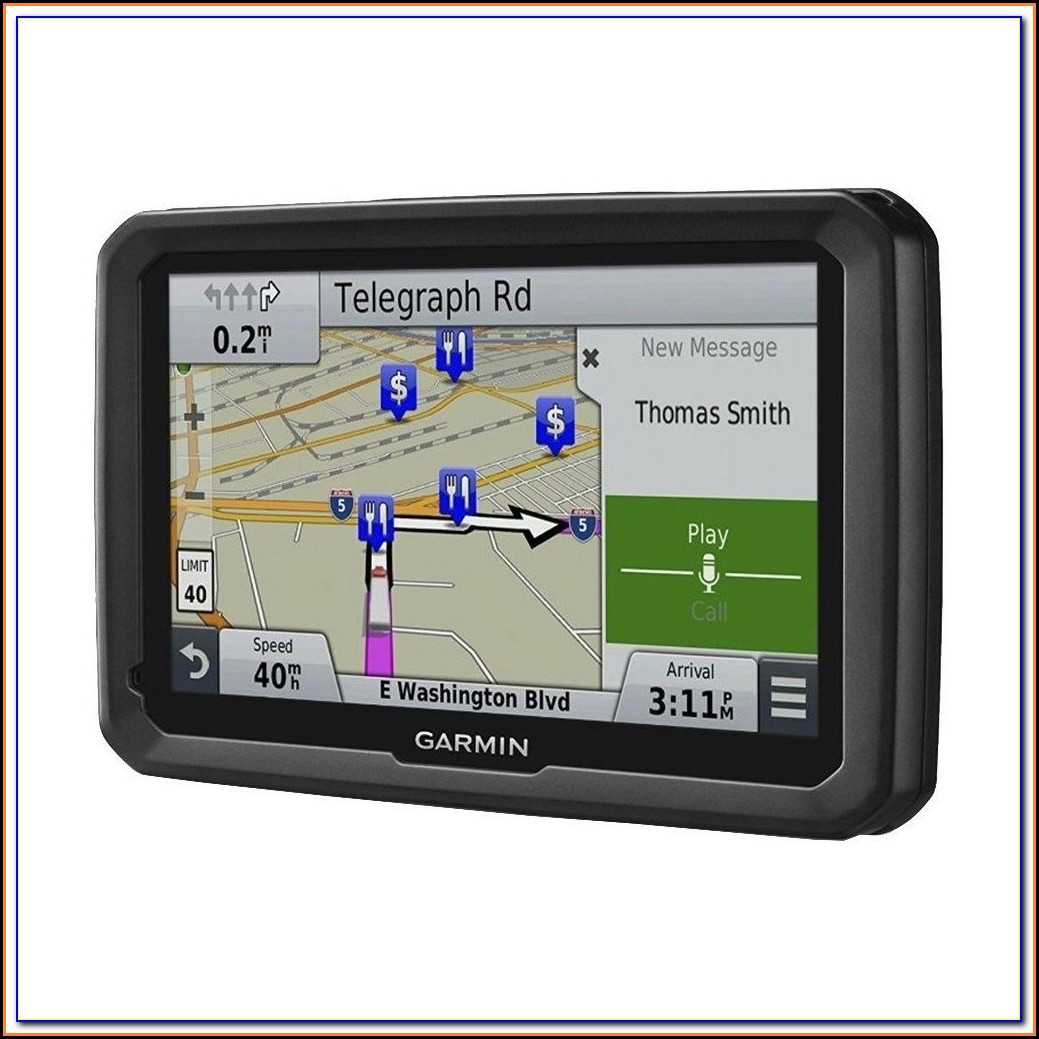 Garmin Dezl 770 Map Update