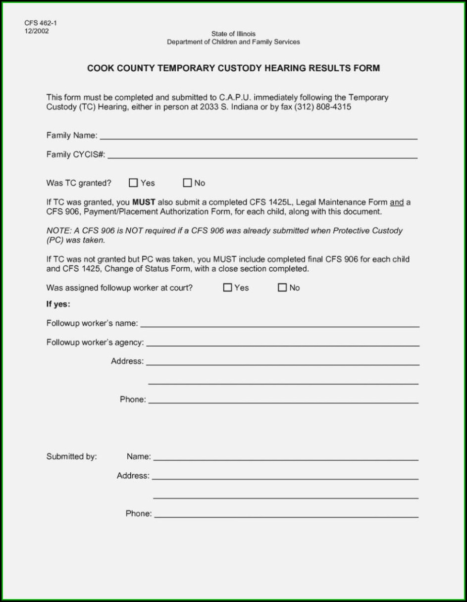 Kansas Legal Guardianship Forms