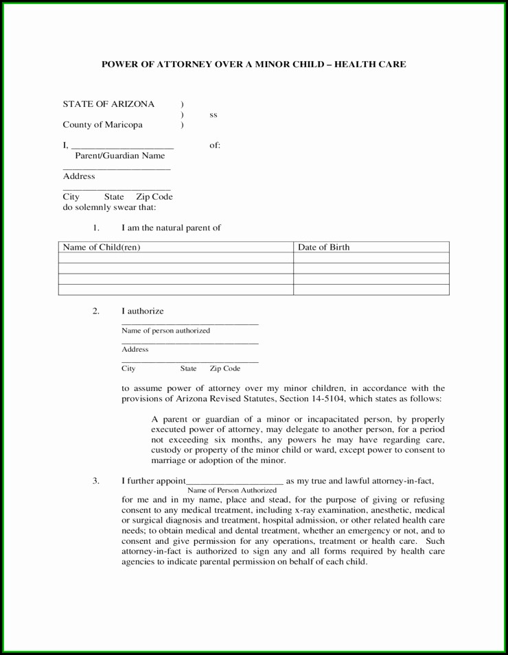 Maine Statutory Power Of Attorney Form
