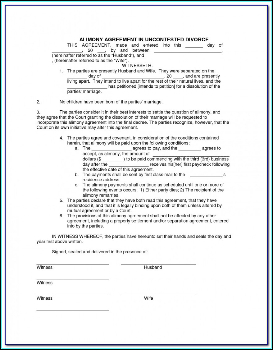 New Jersey Divorce Filing Instructions