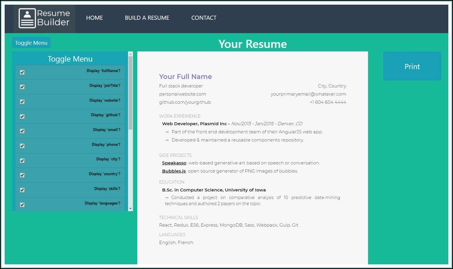 Open Source Resume Parser