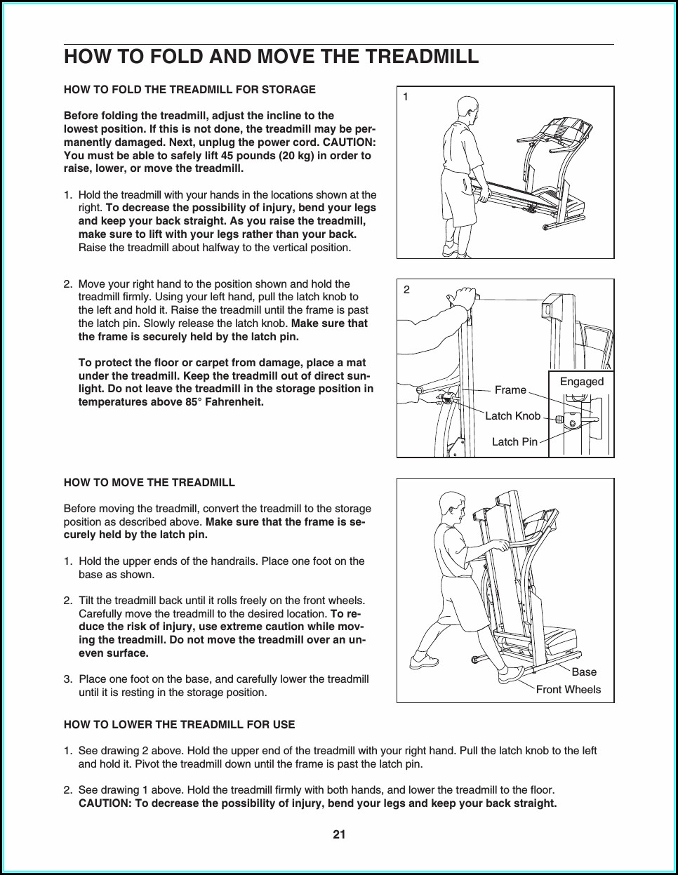 Proform 580x Treadmill Manual