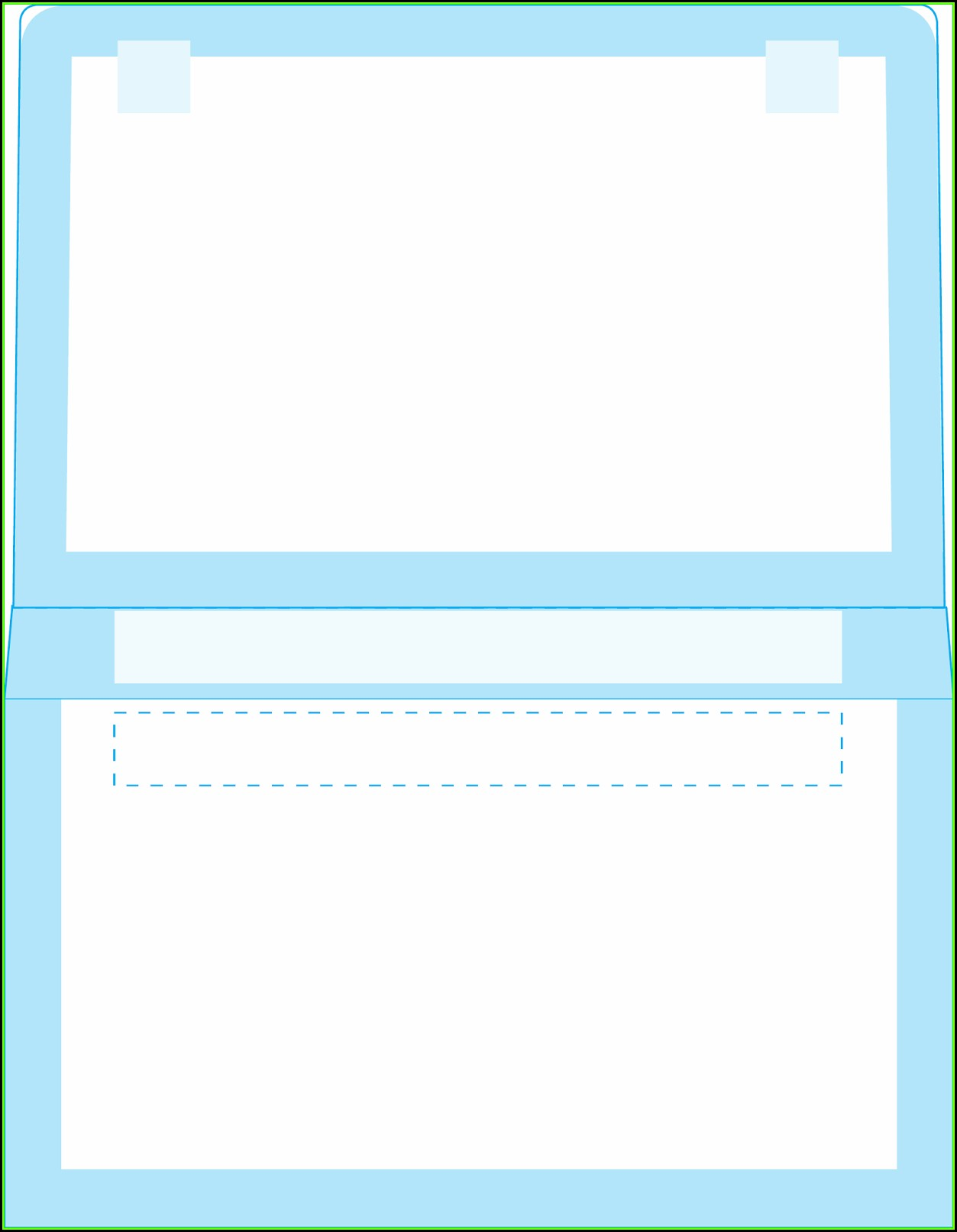 Remittance Envelope Template Publisher