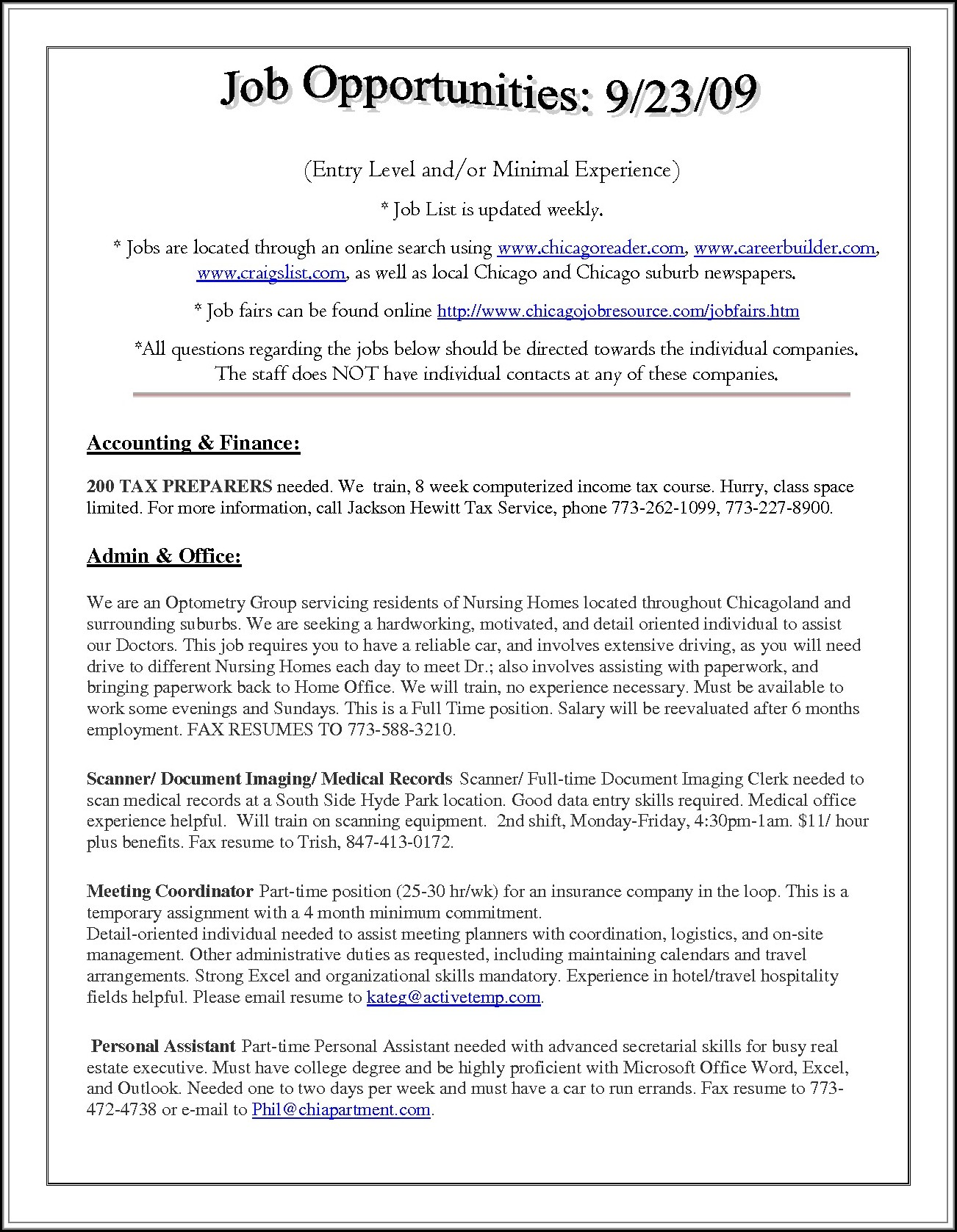 Sample Resume For Nursing Assistant Entry Level