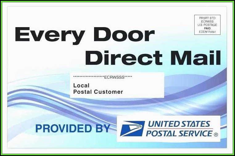 Usps Every Door Direct Mail Template