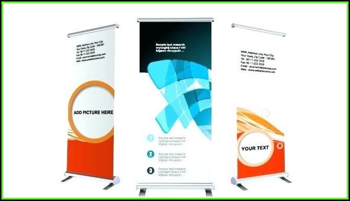 Vistaprint Retractable Banner Template