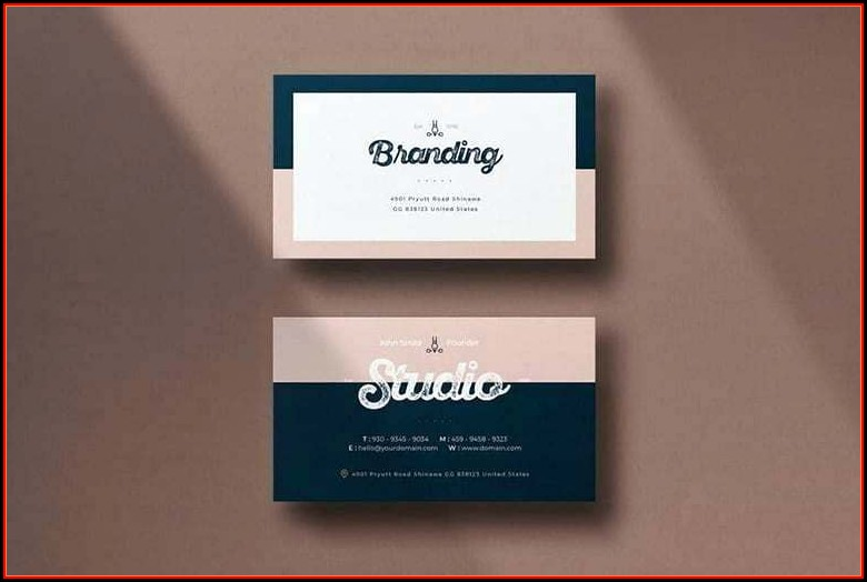 Decadry Business Card Template Word 2010