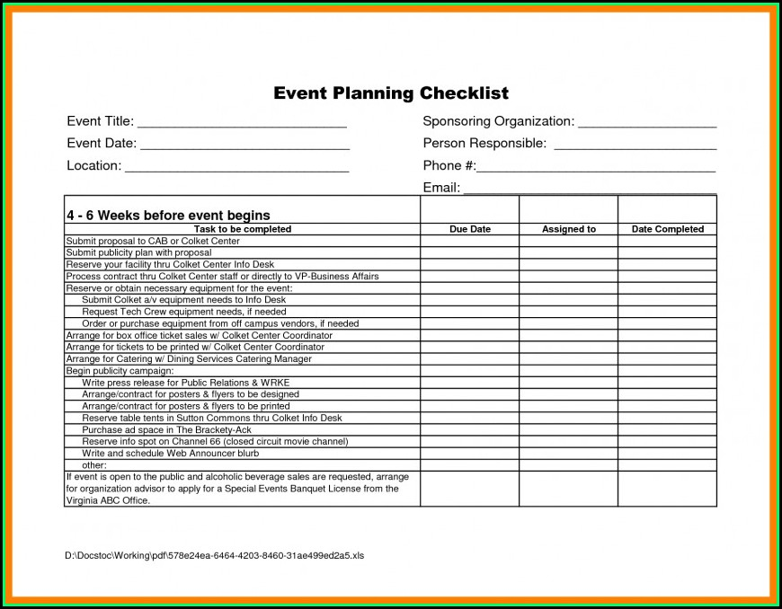 Event Planning Proposal Example Pdf
