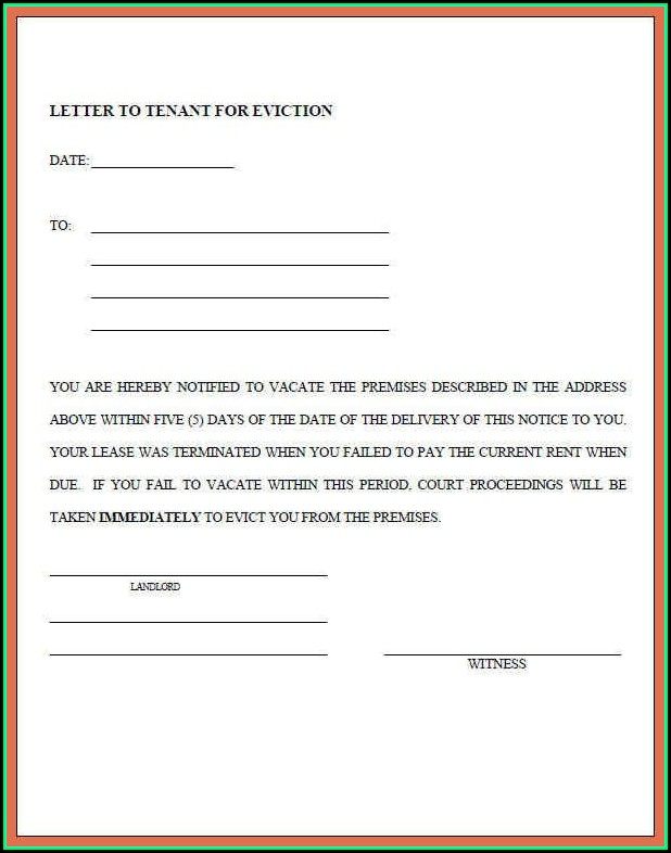 Example Eviction Notice