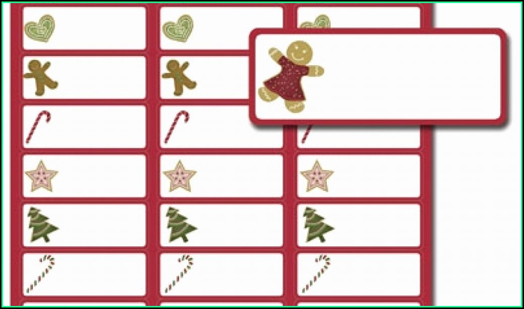 Free Christmas Label Templates Avery 5160
