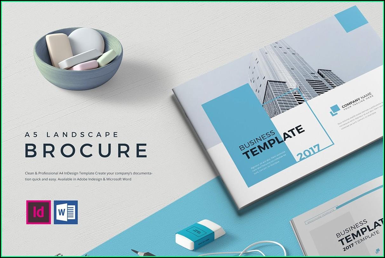 Free Download Brochure Landscape Template