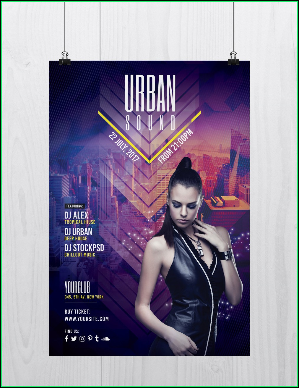 Free Flyer Template Download Psd