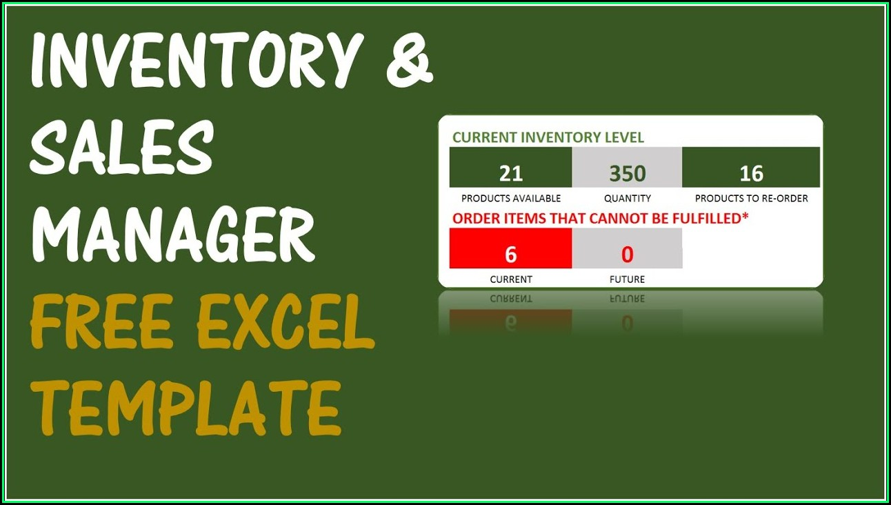 Free Inventory Management Software In Excel Inventory Spreadsheet Template