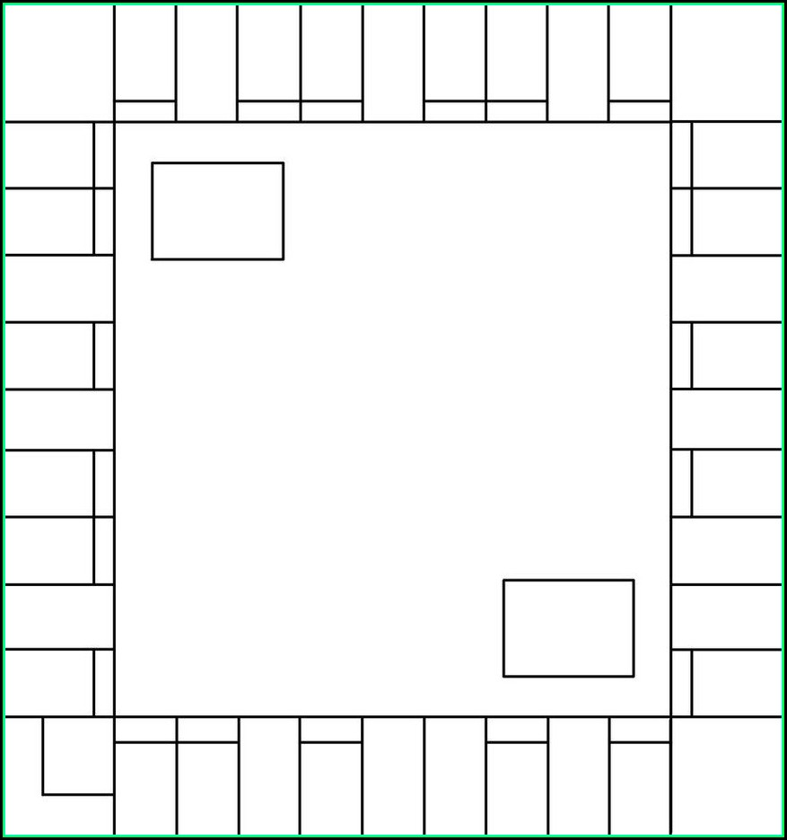 Free Monopoly Game Board Template