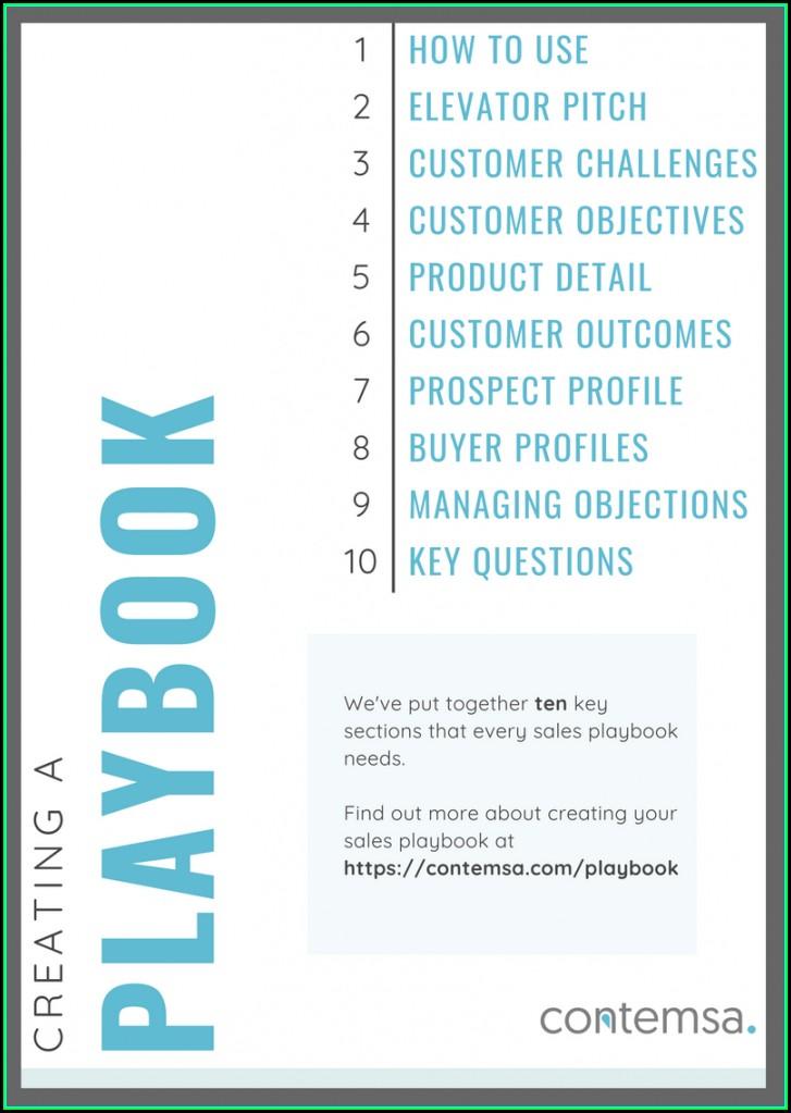 Free Sales Playbook Template