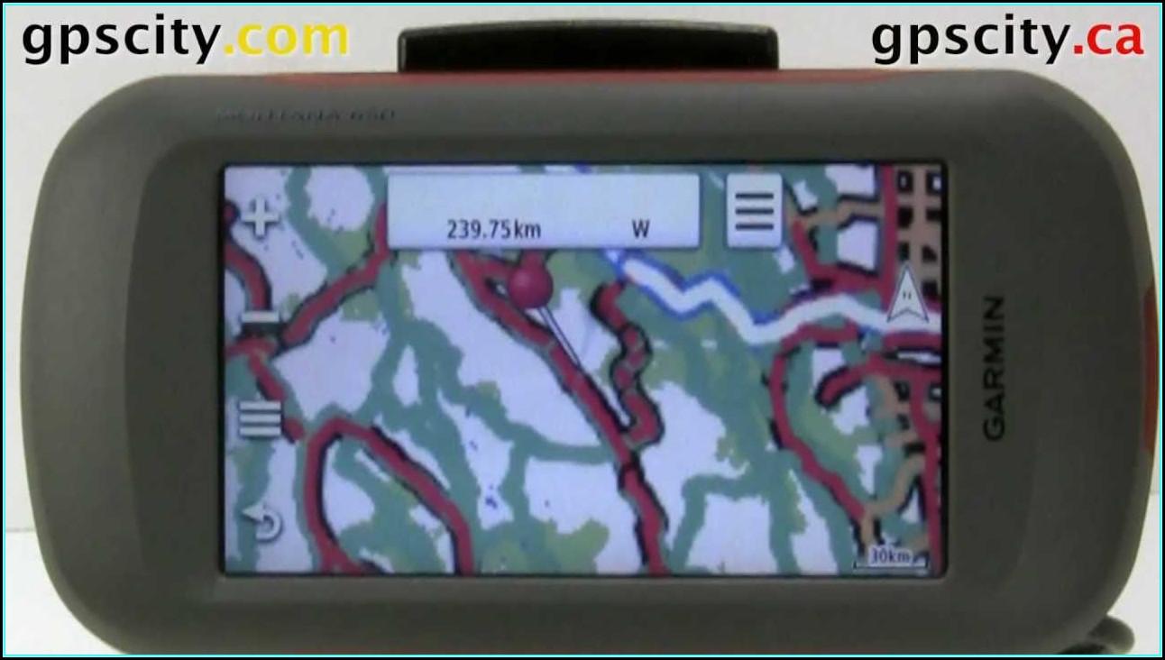 Garmin Montana Maps